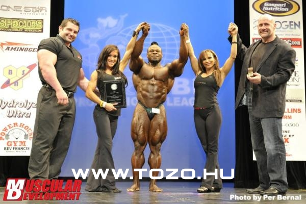 Kai Greene 2011 New York Pro