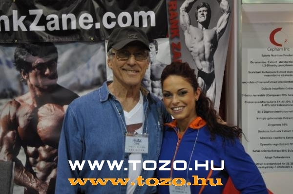 With Frank Zane on the ASC 2010. expo