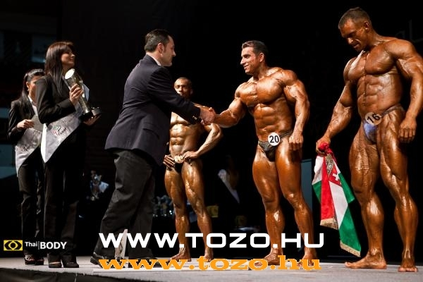 WBPF 1ST WORLD MEN'S BODYBUILDING championship