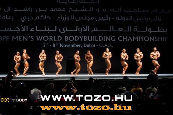 WBPF 1ST WORLD MEN'S BODYBUILDING championship overall